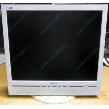 """Б/У монитор 17"""" Philips 170B с колонками и USB-хабом в Кисловодске, белый (Кисловодск)"""